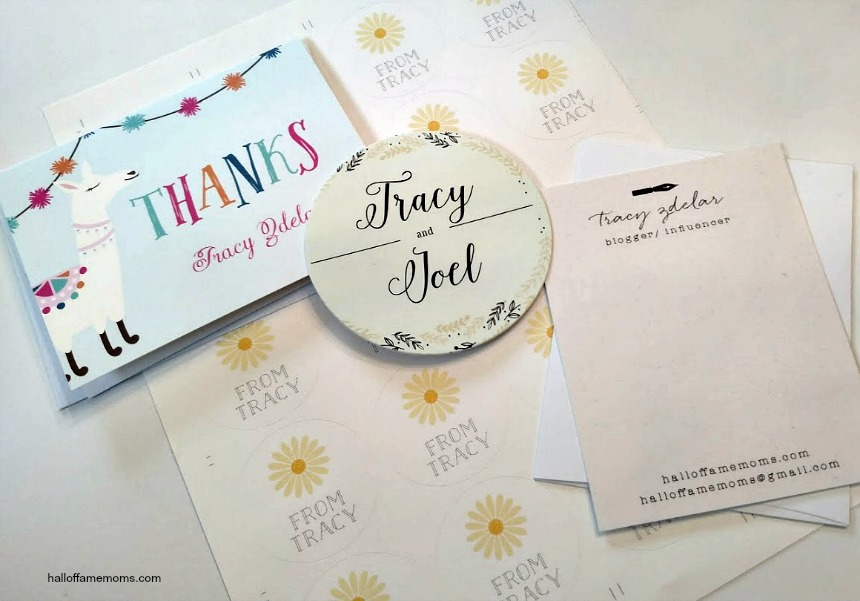 Beautiful customizable cardstock stationary & Baby Shower Invitations (ad)