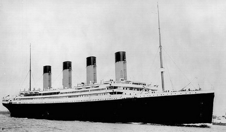 107th Anniversary of the Sinking of the Titanic