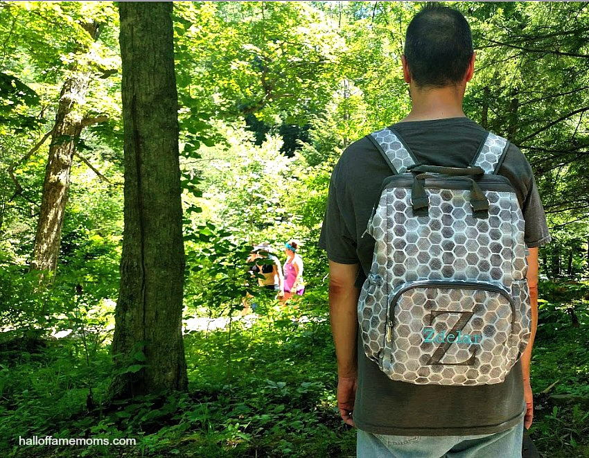 Adventures Backpack at Hocking Hills mythirtyone.com/tracyzdelar