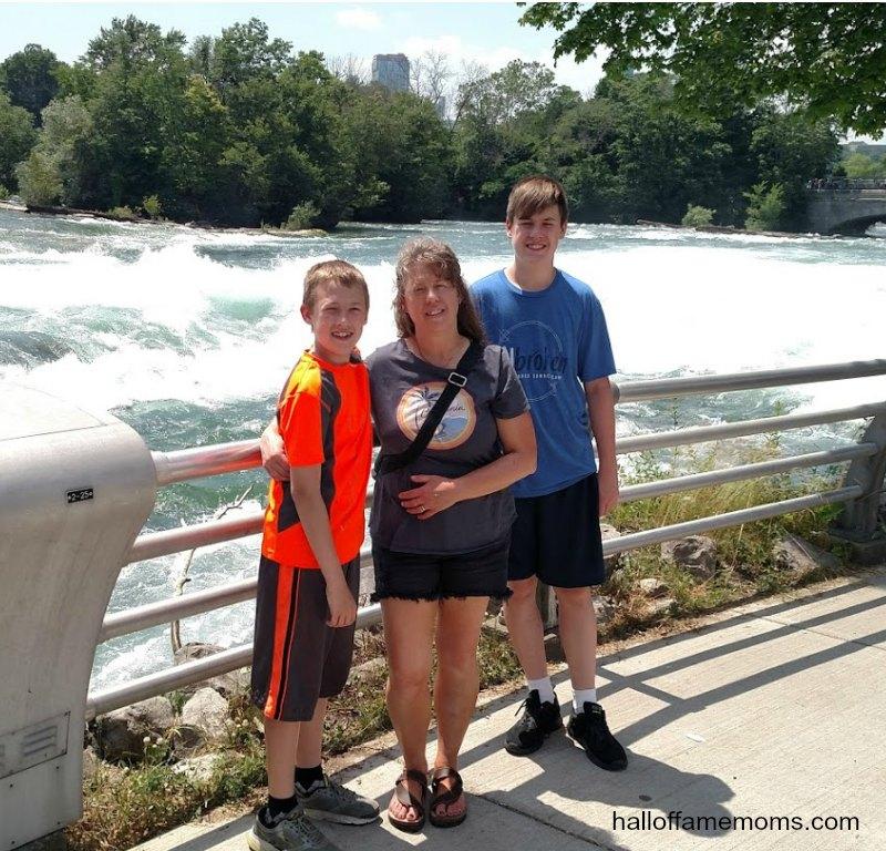 Visiting Niagara Falls State Park in NY