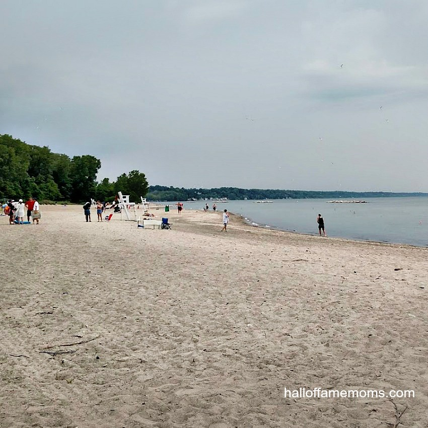 Presque Isle State Park in PA (Lake Erie)