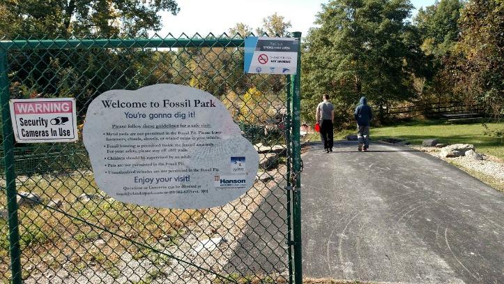 Visiting Olander Fossil Park, Sylvania- Ohio