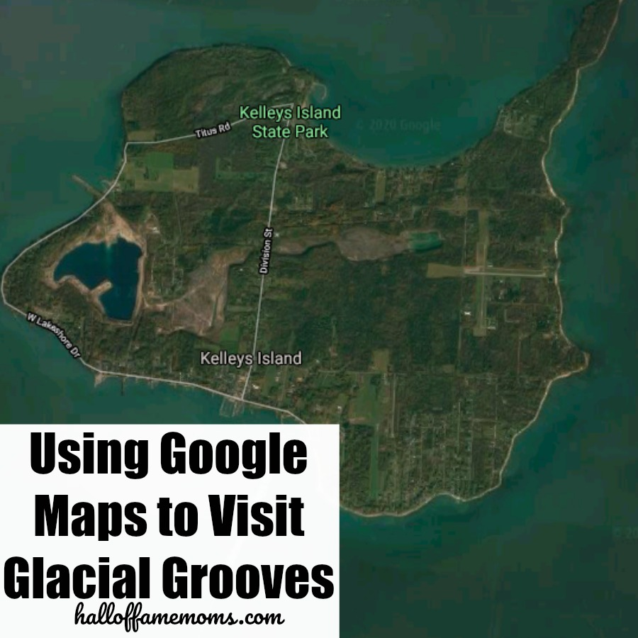Take a virtual field trip to see the Glacial Grooves via Google Maps or Earth.