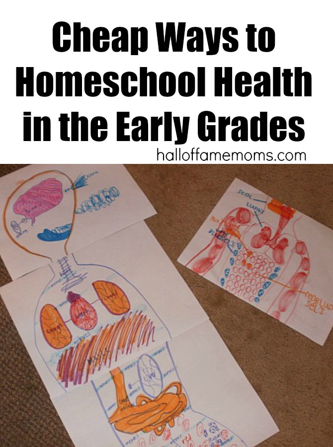 cheap ways to homeschool health with free printables