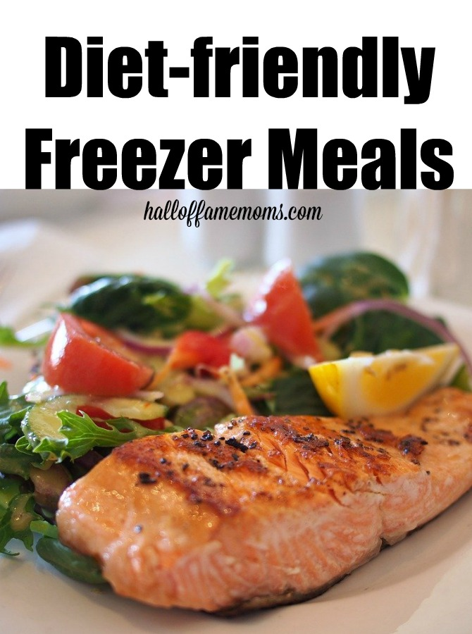diet friendly freezer meals, freezer cooking, prep food, plan ahead