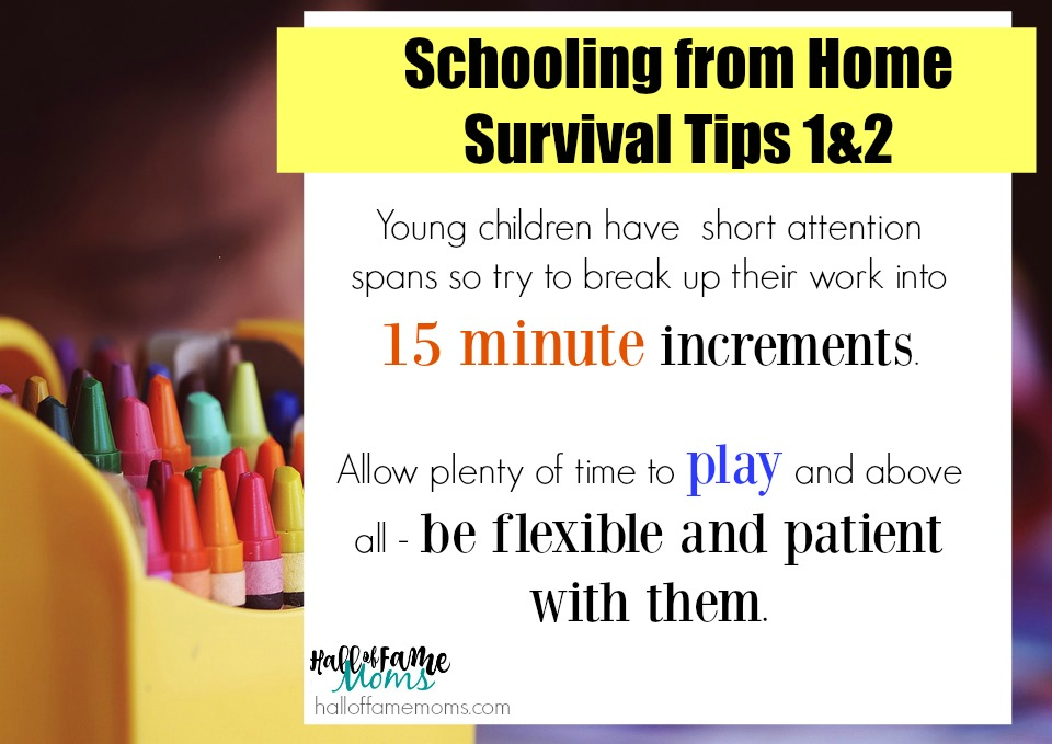 tips to survive and thrive having your kids home all day - avoid mom guilt