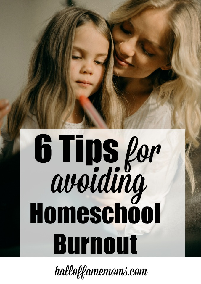 Tips for stress relief, avoiding homeschool burnout, parenting burnout,