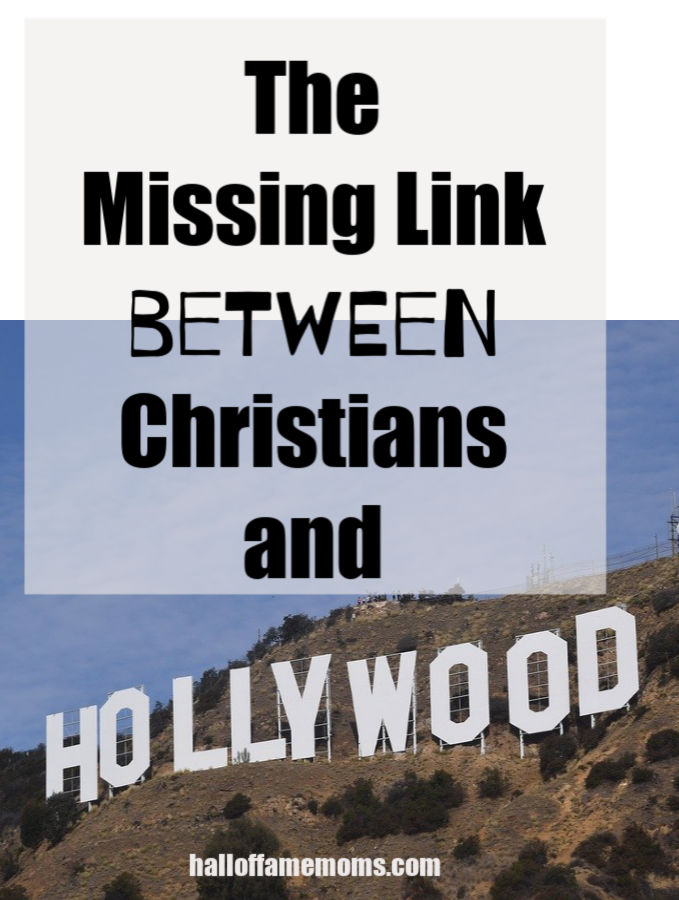 What is the missing link between Christians and watching Hollywood movies?