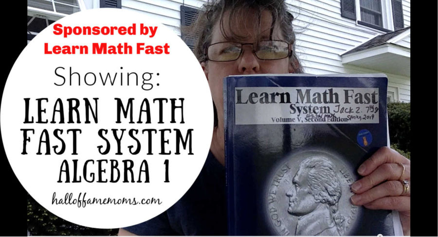 Learn Math Fast Books sponsored review and Youtube video.