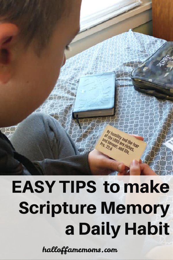 easy tips to make scripture memory a daily habit for kids and adults