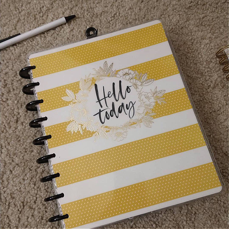 My Happy Planner for homeschool.